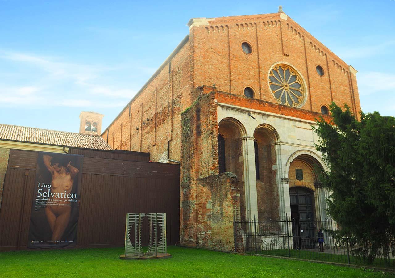 パドヴァ観光 エレミターニ教会(Chiesa degli Eremitani )