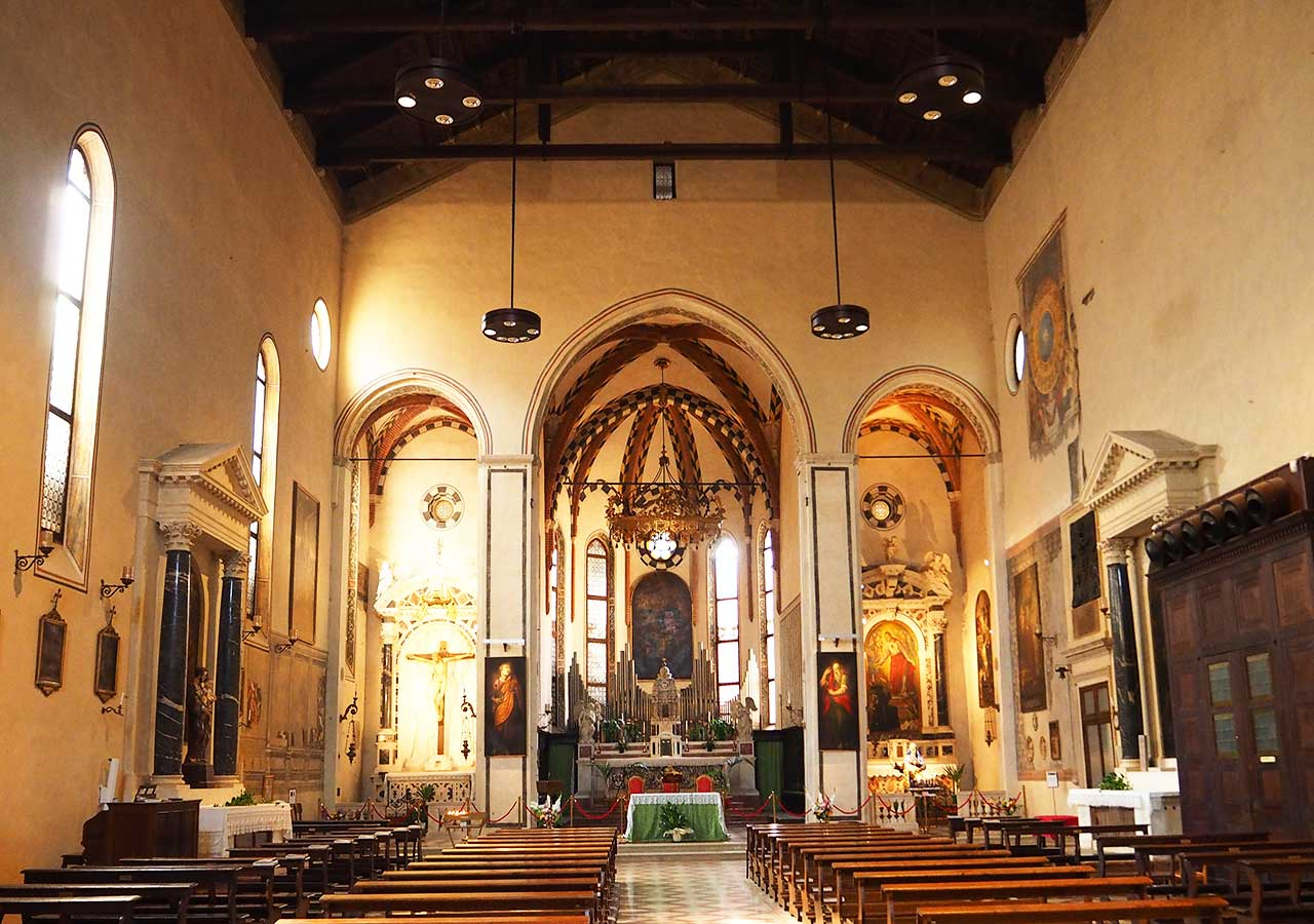 パドヴァ観光 サンタ・マリア・デイ・セルヴィ教会(Chiesa di Santa Maria dei Servi )