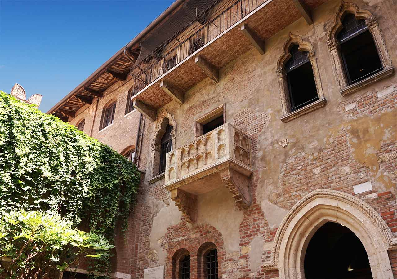 ヴェローナ観光 ジュリエットの家