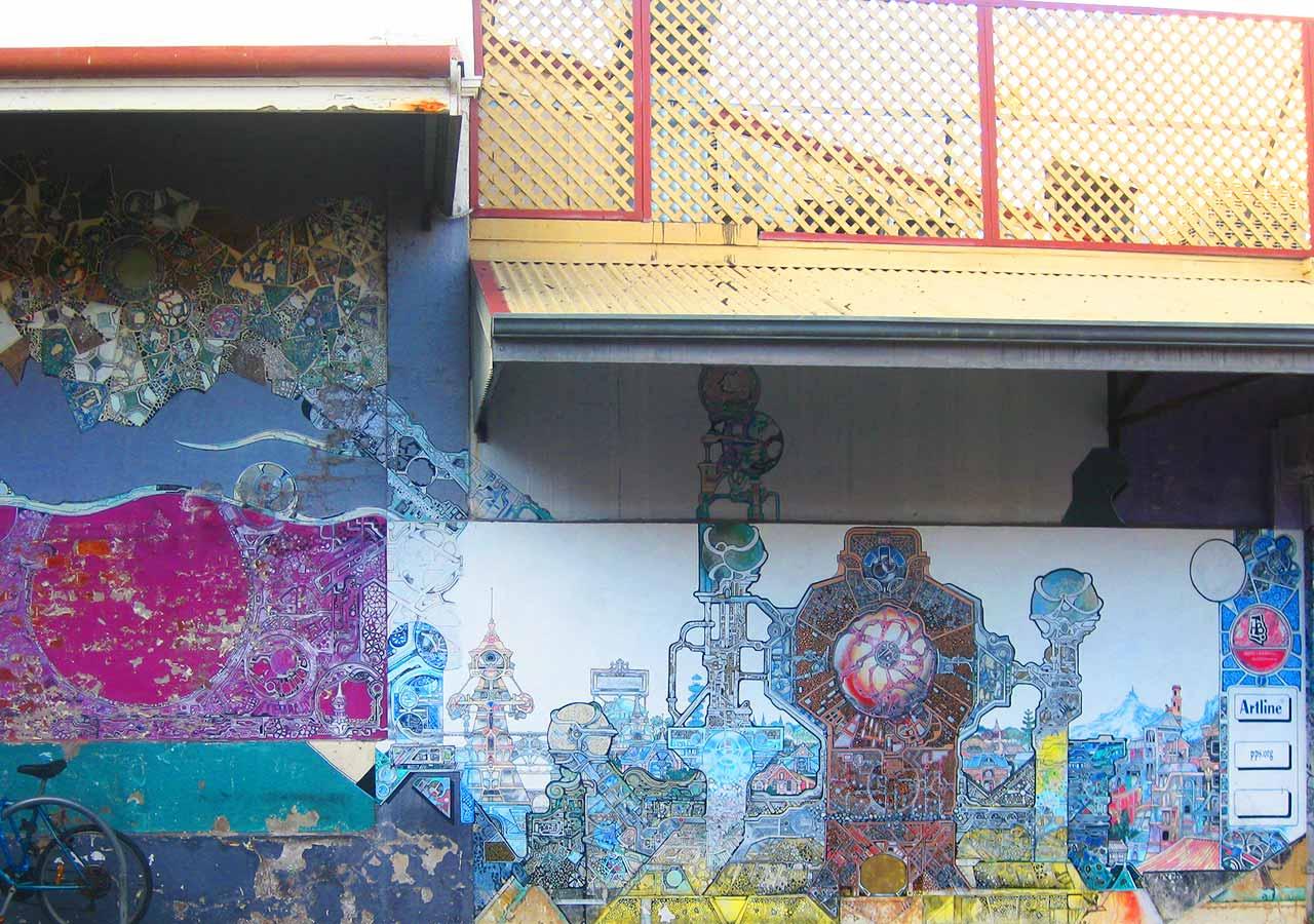パース観光 フリーマントル(Fremantle)のストリートアート