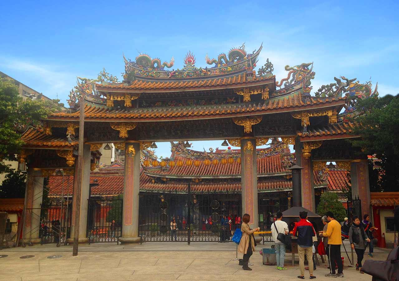 台湾観光 台北市孔子廟(Kongzi Miao)