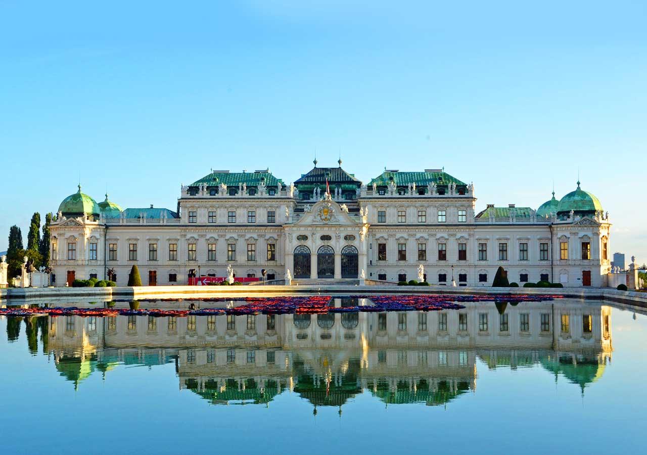 ウィーン観光 ベルヴェデーレ宮殿(Belvedere Palace Museum)