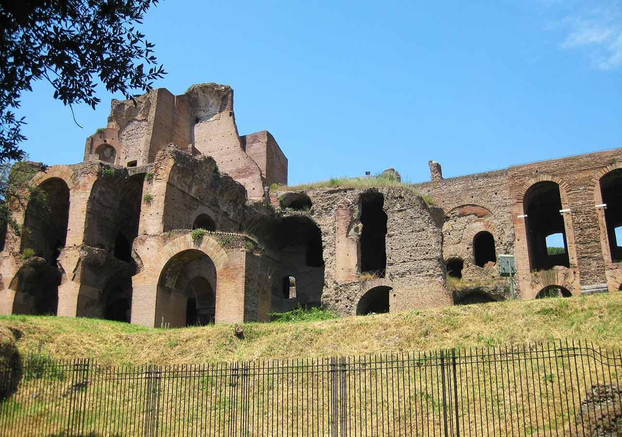 ローマ観光 パラティーノの丘(Palatino)