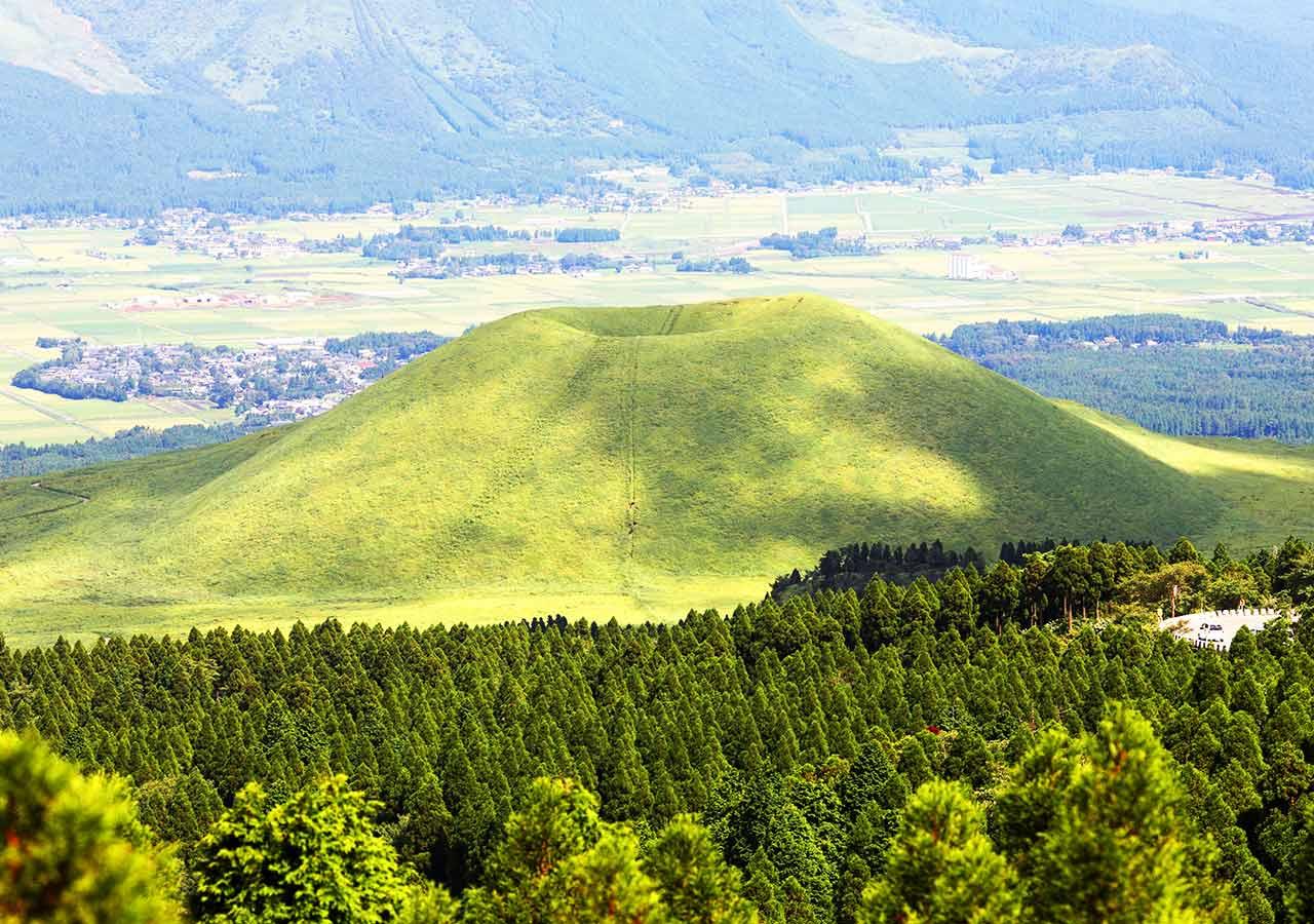熊本県 黒川温泉周辺のおすすめスポット 大観峰