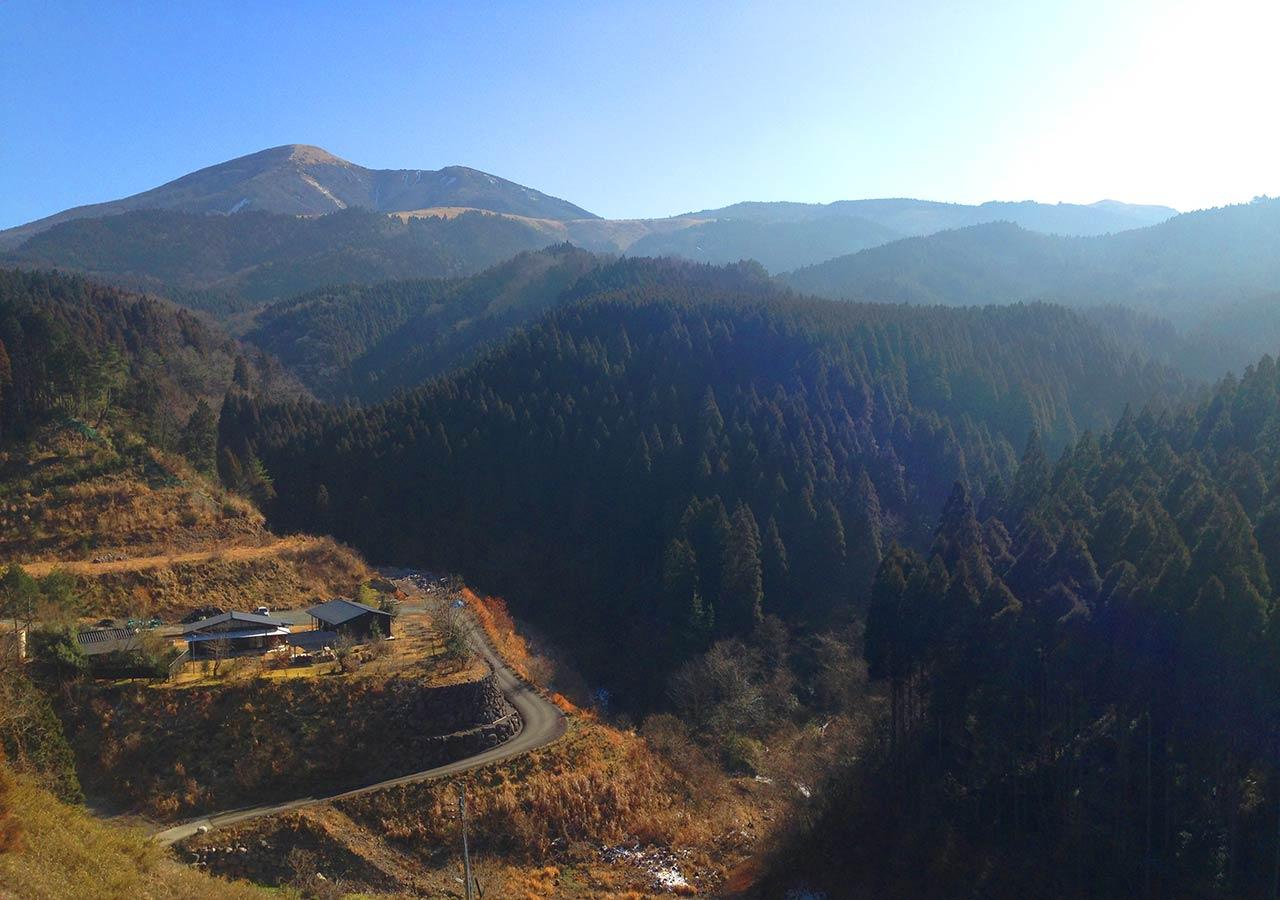 熊本県 黒川温泉周辺のおすすめスポット ファームロードわいた