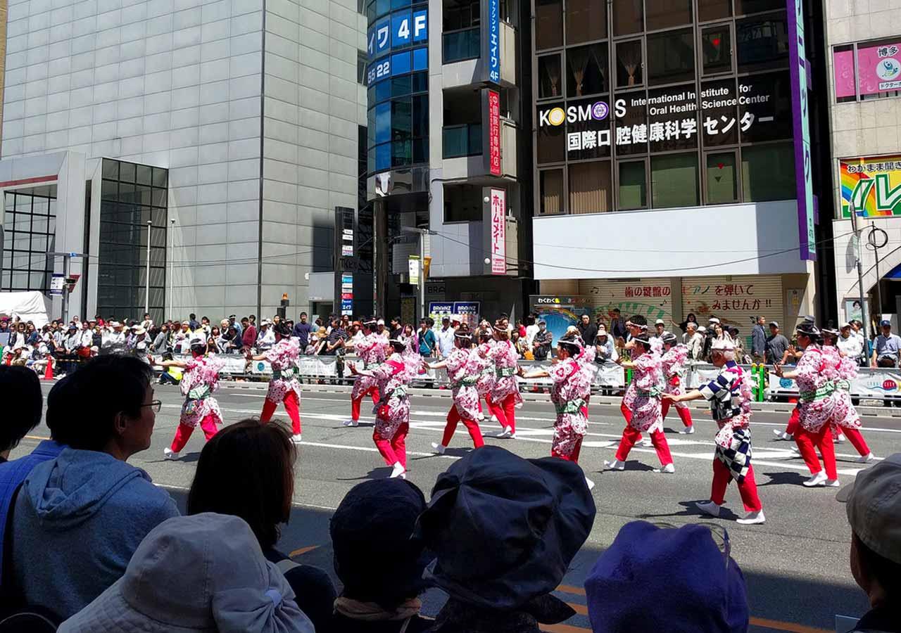 2018ゴールデンウィーク 福岡のおすすめイベント 博多どんたく