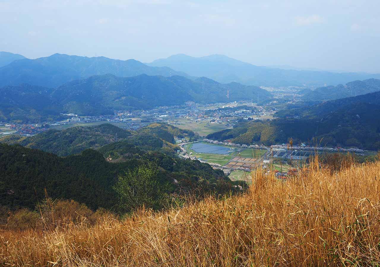 福岡 平尾台大平山からの眺め
