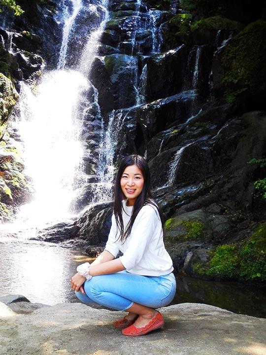 ゴールデンウィーク 福岡のデートスポット 白糸の滝