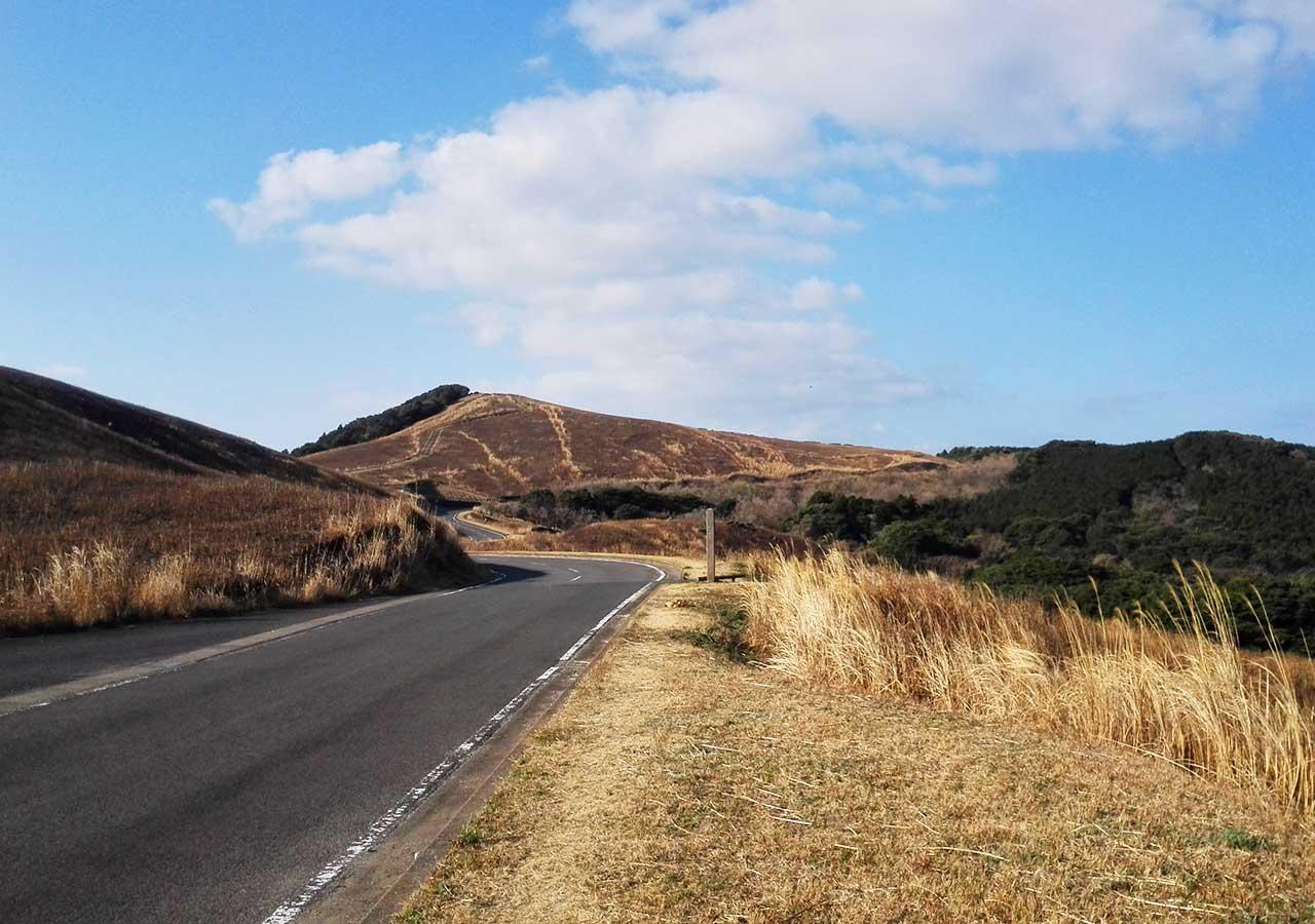 長崎 平戸 川内峠の丘に向かう