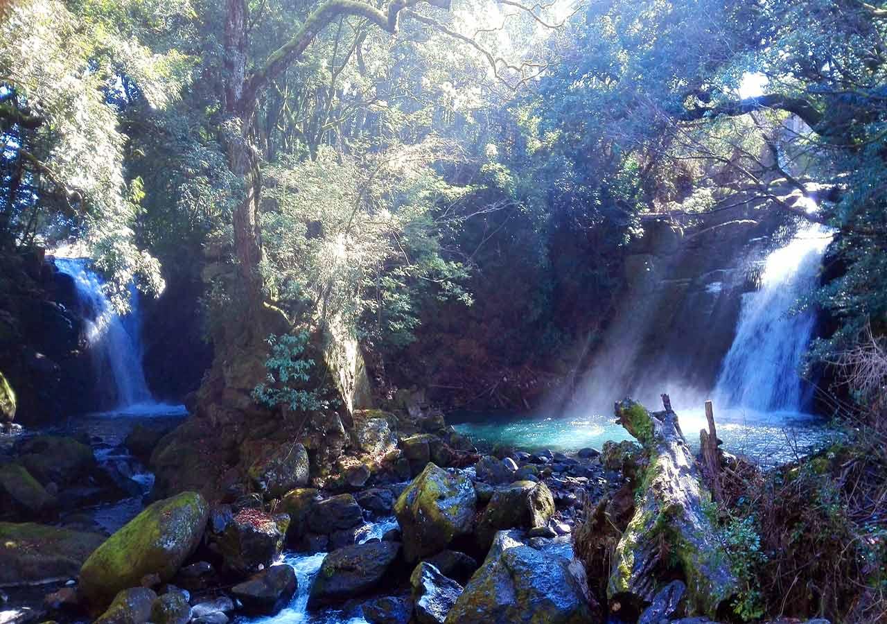 熊本県 黒川温泉周辺のおすすめスポット 夫婦滝