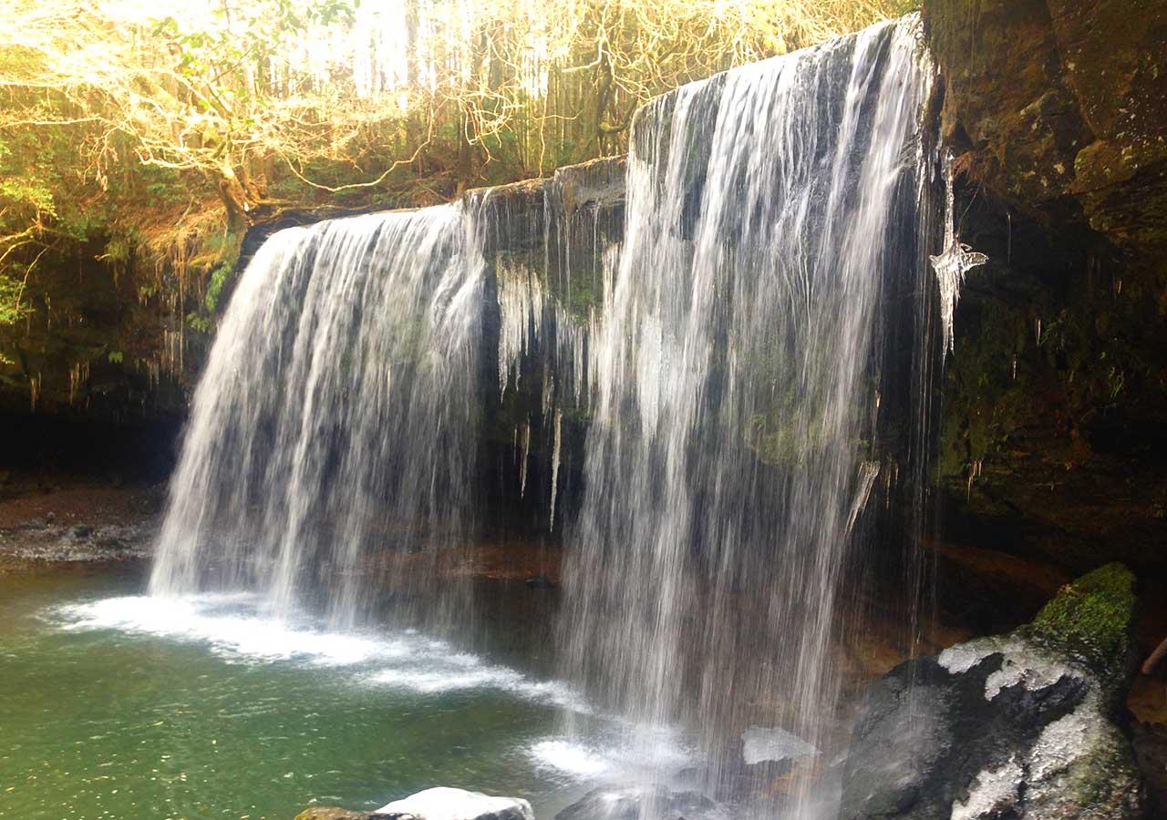 熊本県 黒川温泉周辺のおすすめスポット 鍋ケ滝