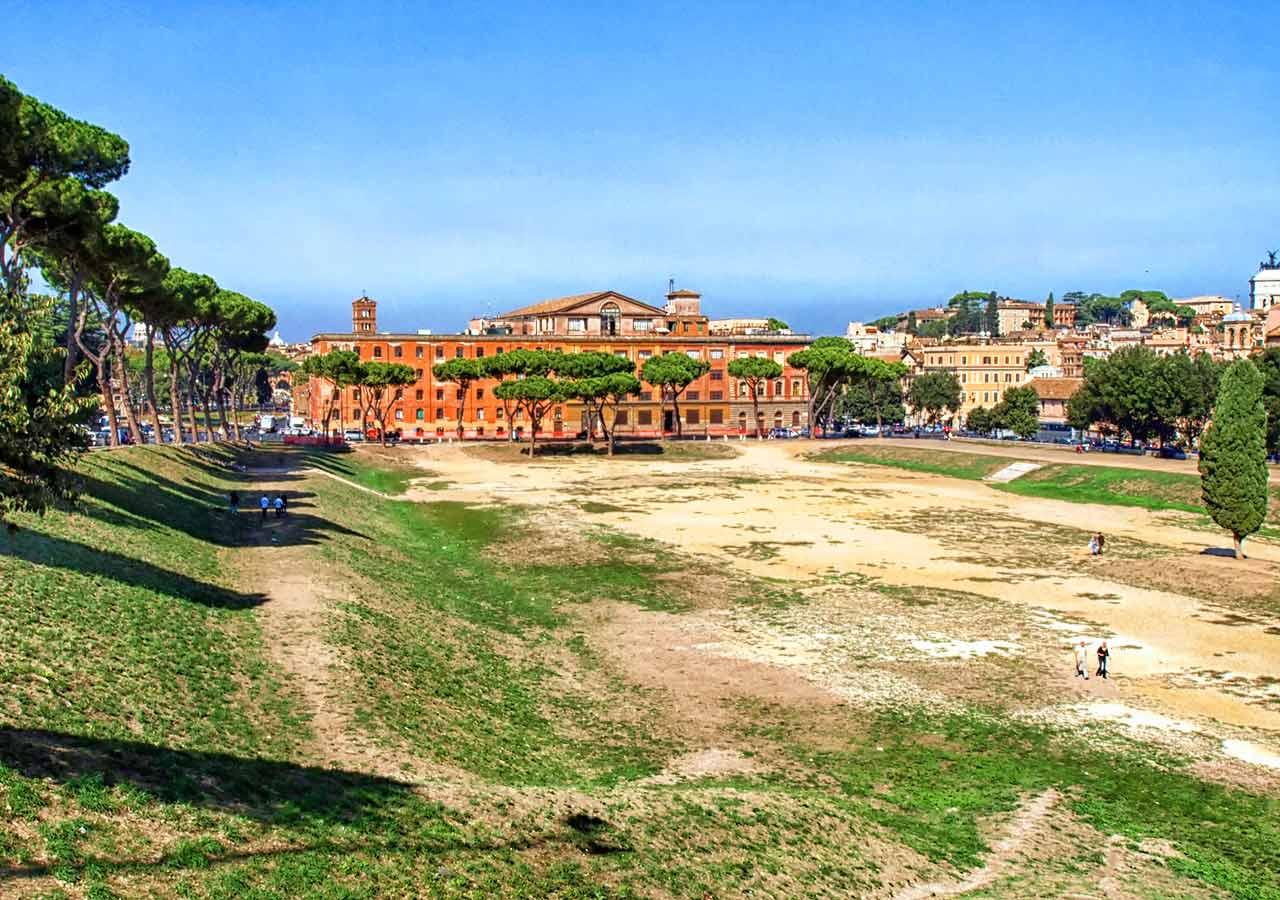 ローマ観光 チルコマッシモ(Circo Massimo)
