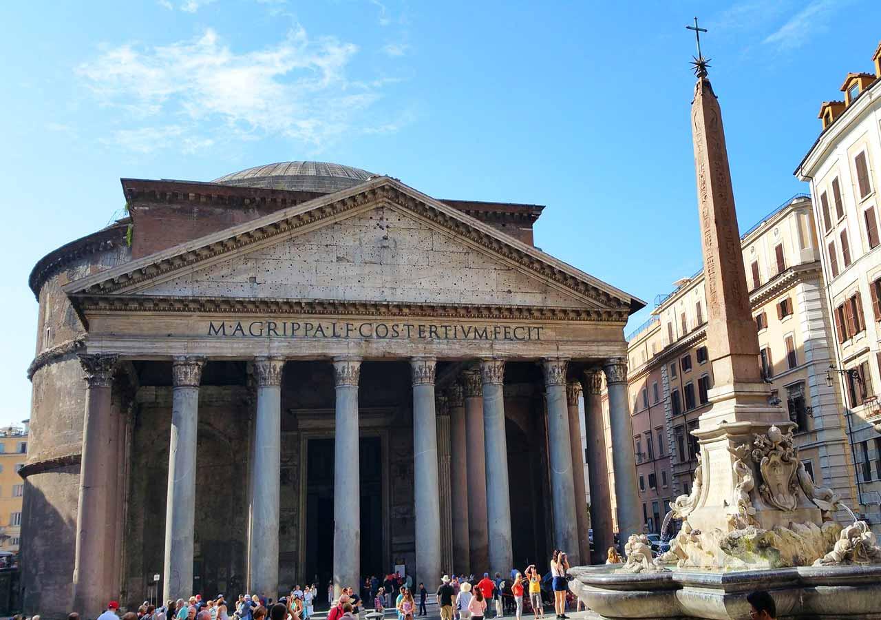 ローマ観光 パンテオン(Pantheon)