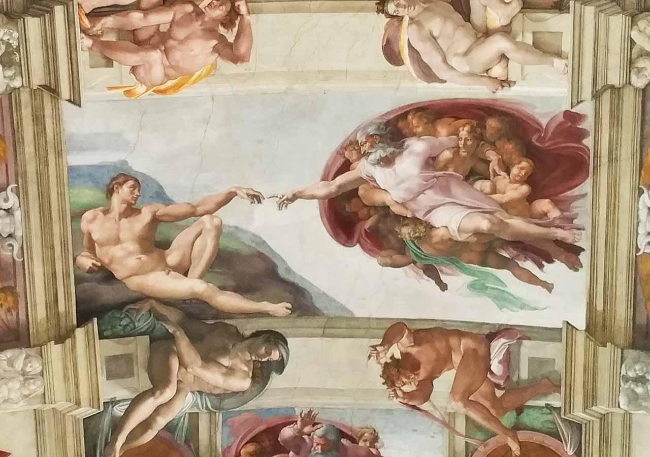 ローマ観光 バチカン美術館(Vatican Museums)のシスティーナ礼拝堂(Cappella Sistina)