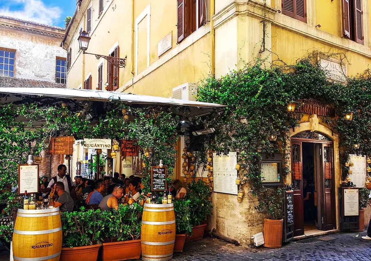 ローマ観光 トラステヴェレ(Trastevere)