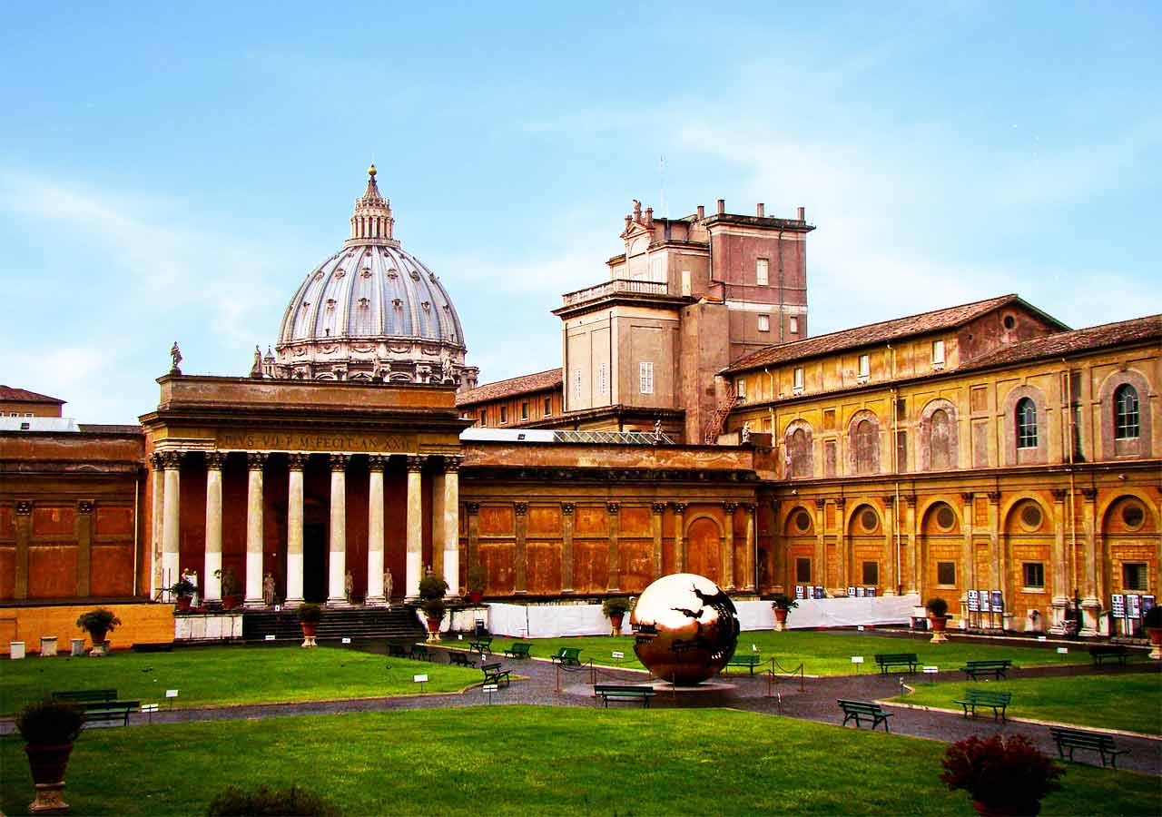ローマ観光 バチカン美術館(Vatican Museums)