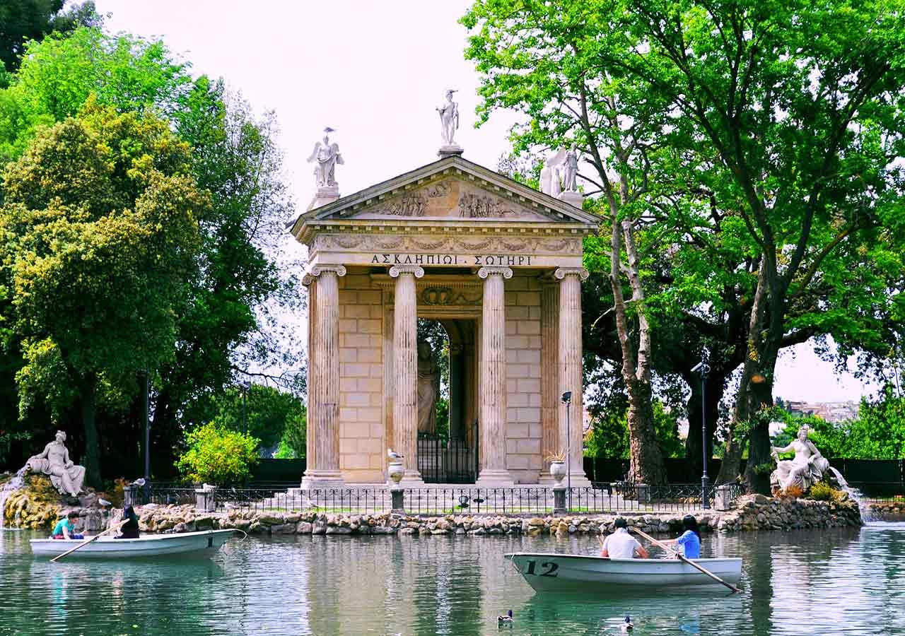 ローマ観光 ボルゲーゼ公園(Villa Borghese)