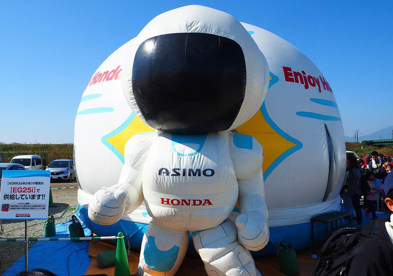 佐賀インターナショナルバルーンフェスタ ASIMOふわふわ