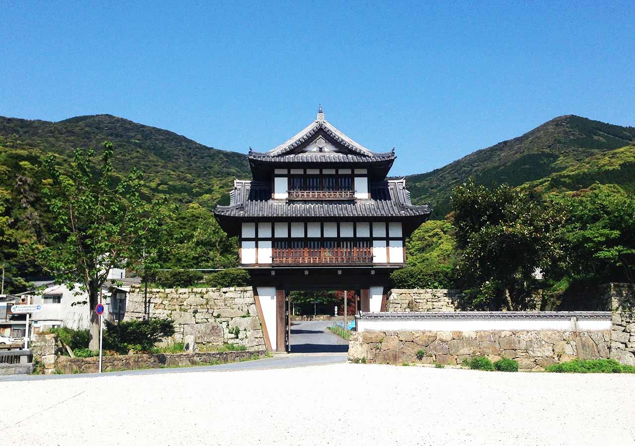長崎県 対馬 金石城跡