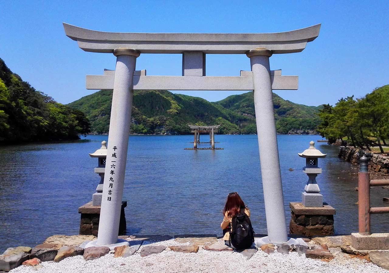 長崎県 対馬 和多都美神社(わたづみじんじゃ)