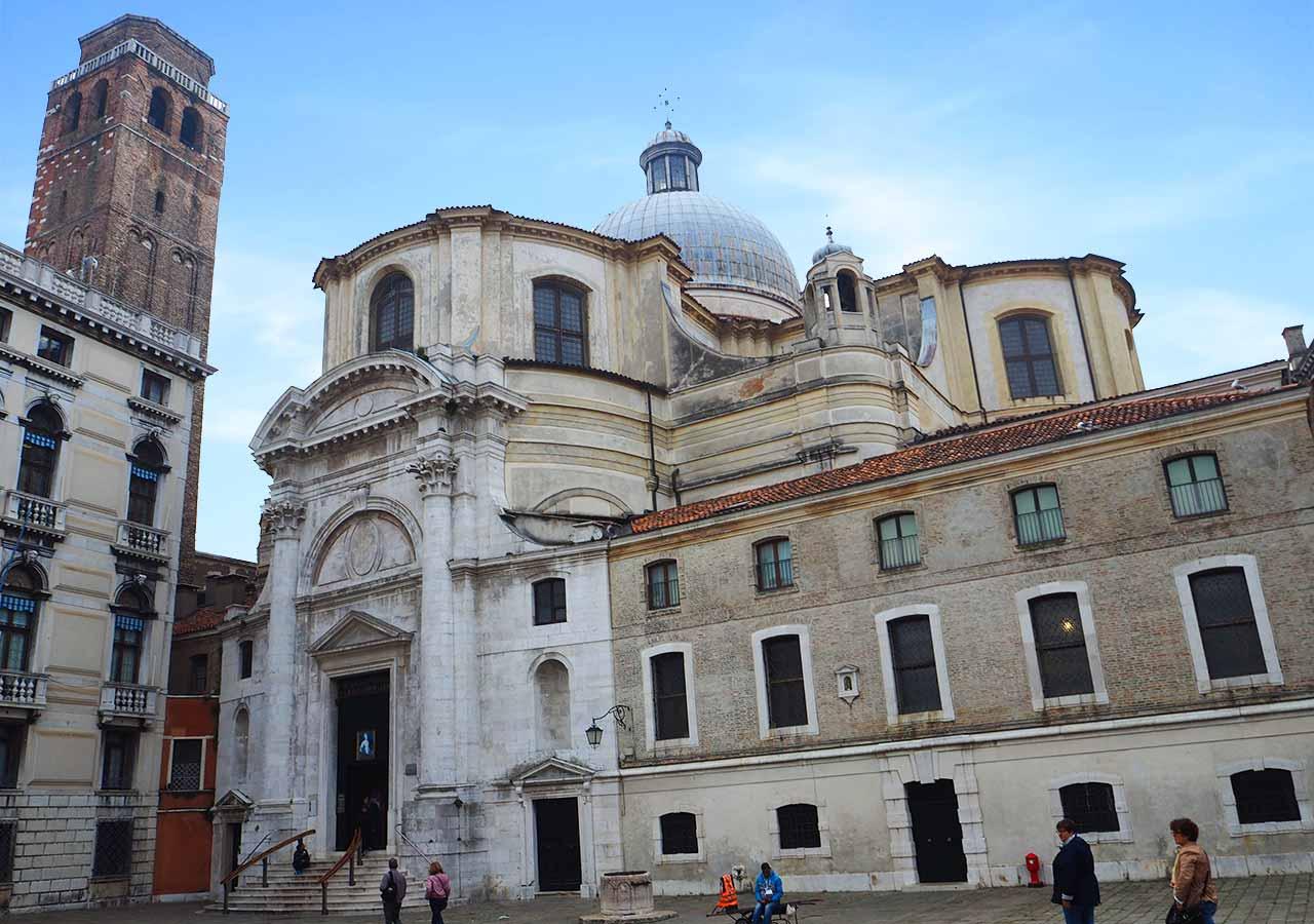 ベネチア観光 サン・ジェレミア教会(Chiesa di San Geremia)