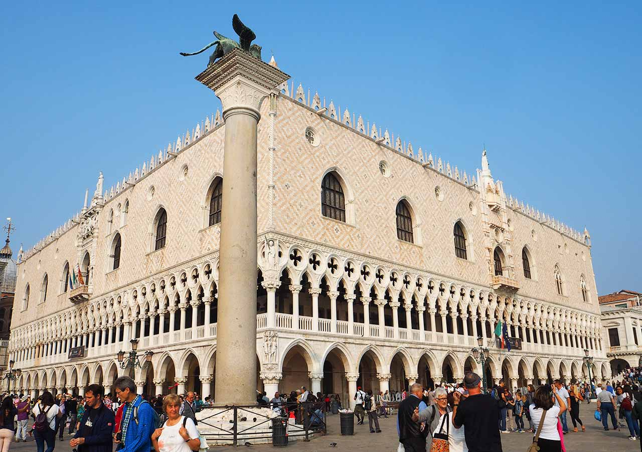 ベネチア観光 ドゥカーレ宮殿(Palazzo Ducale)