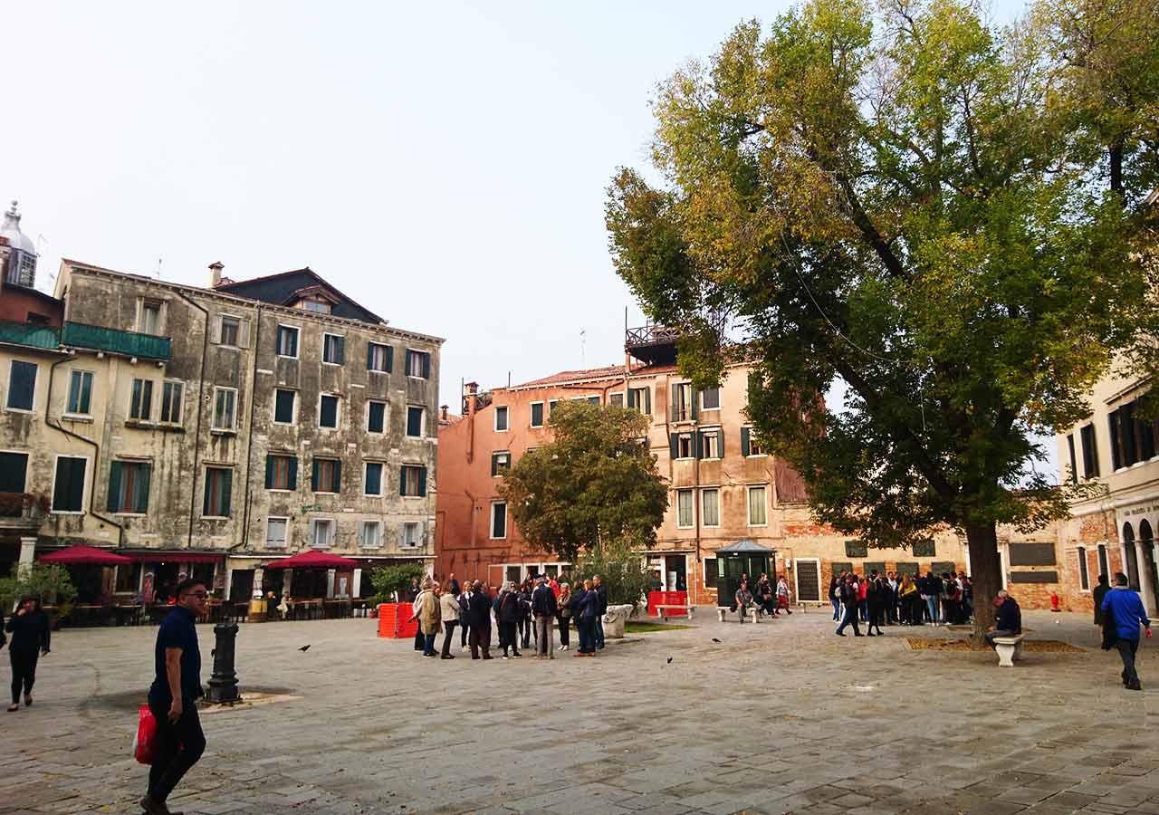 ベネチア観光 新ゲットー(Ghetto Nuovo)