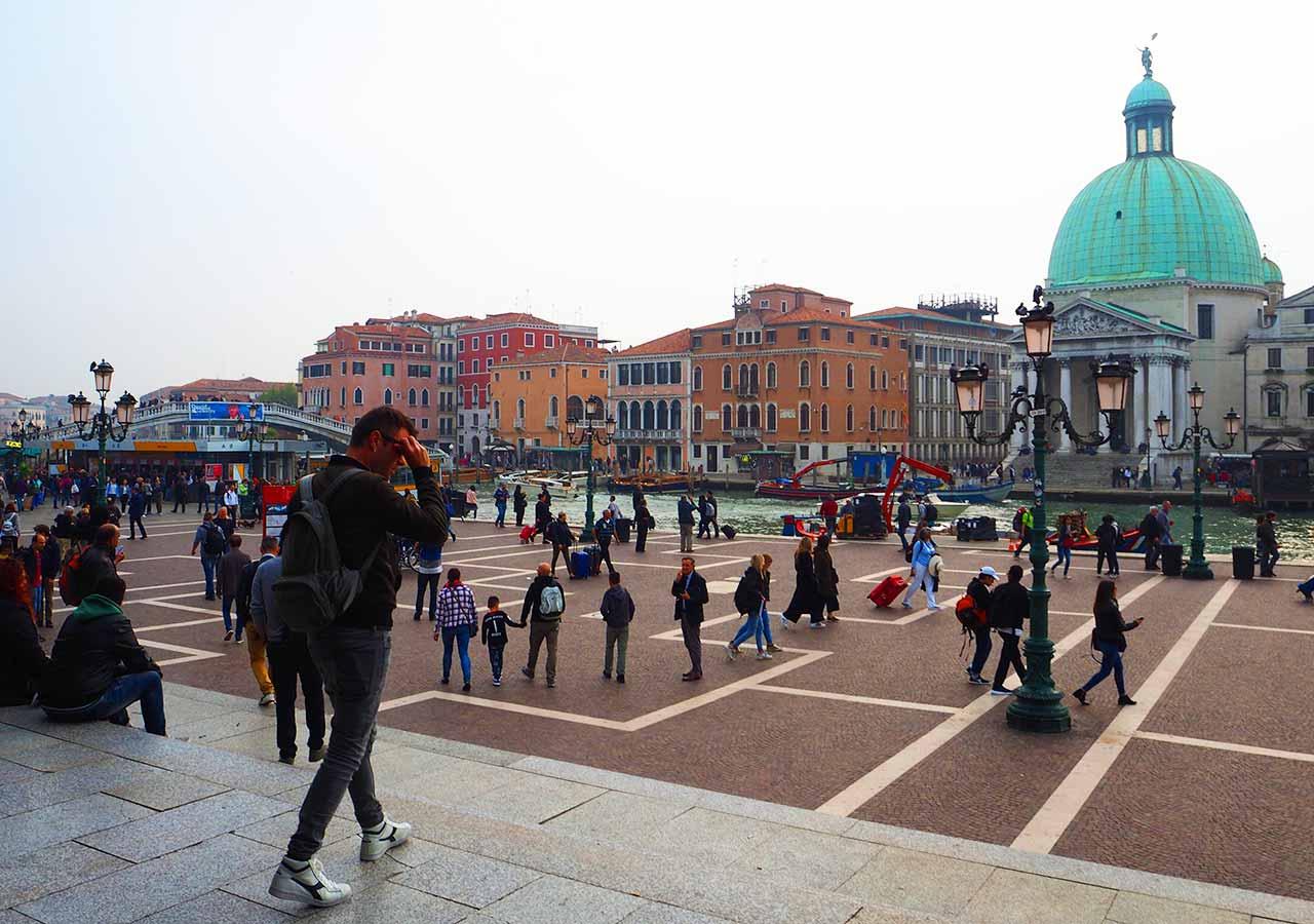 ベネチア観光 サンタルチア駅(Stazione di Venezia Santa Lucia)