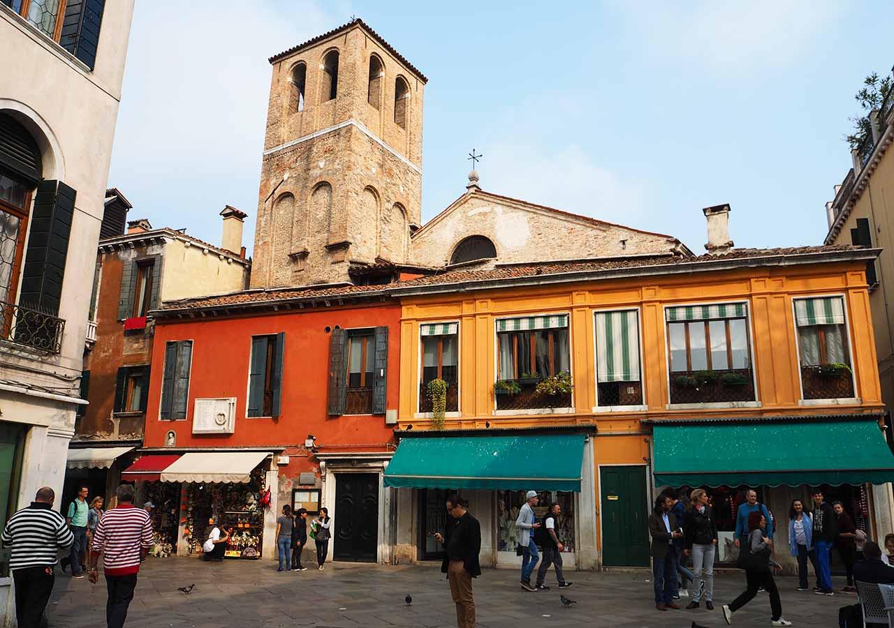 ベネチア観光 ノーヴァ通り(Strada Nova)