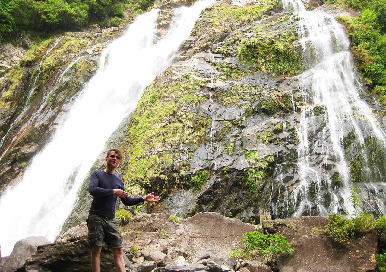 鹿児島 屋久島一周の観光コース 大川の滝