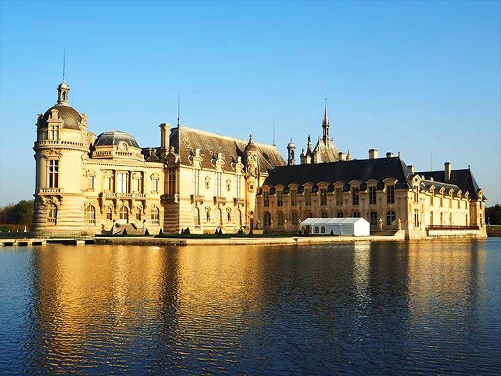 パリ観光 穴場スポット シャンティイ城(Château de Chantilly)トップ画像