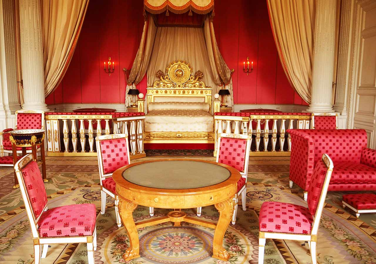 ヴェルサイユ宮殿 大トリアノン宮殿の部屋