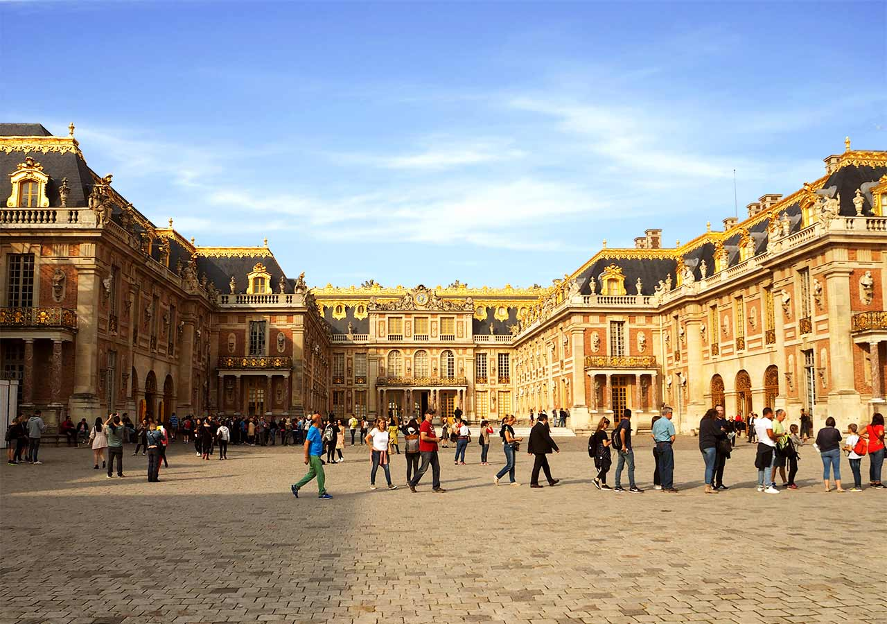 ヴェルサイユ宮殿 宮殿
