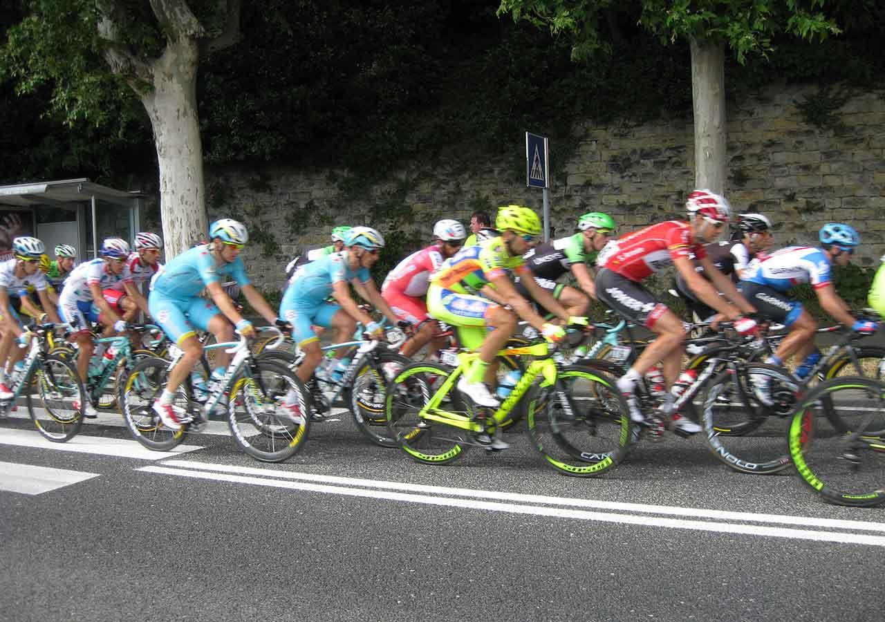 イタリア旅行 ジロ・デ・イタリア現地観戦 レースの様子