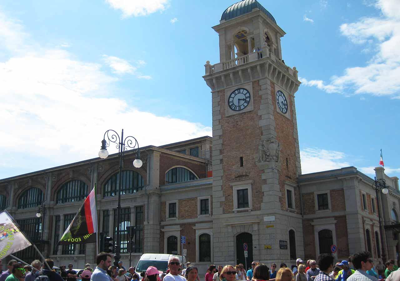 イタリア旅行 ジロ・デ・イタリア現地観戦 トリエステ(Trieste)の様子