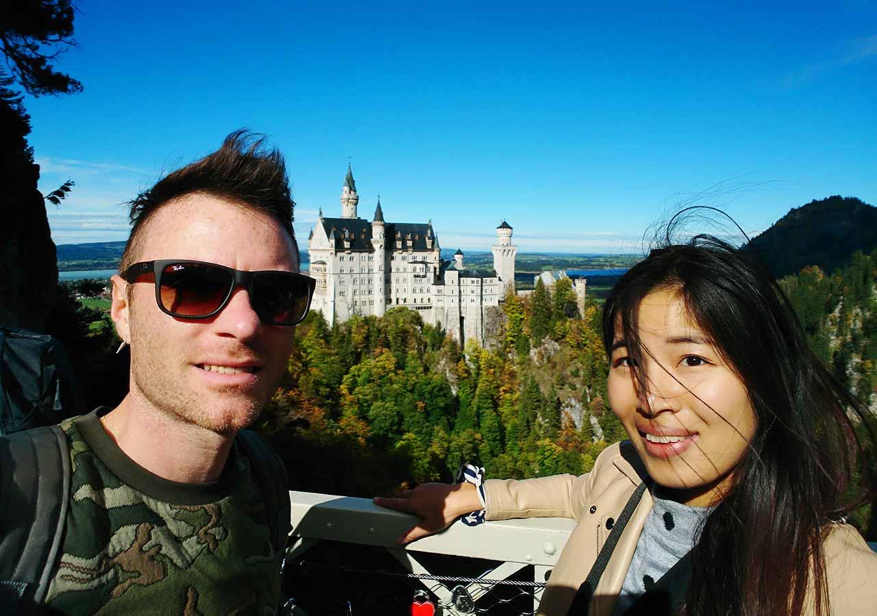 ドイツ観光 ノイシュバンシュタイン城の行き方 バイエルンチケット