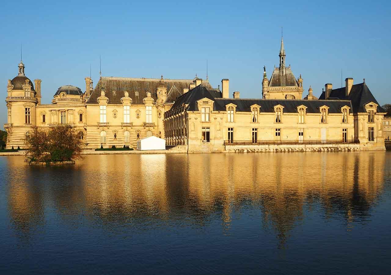 パリ観光 穴場スポット シャンティイ城(Château de Chantilly)