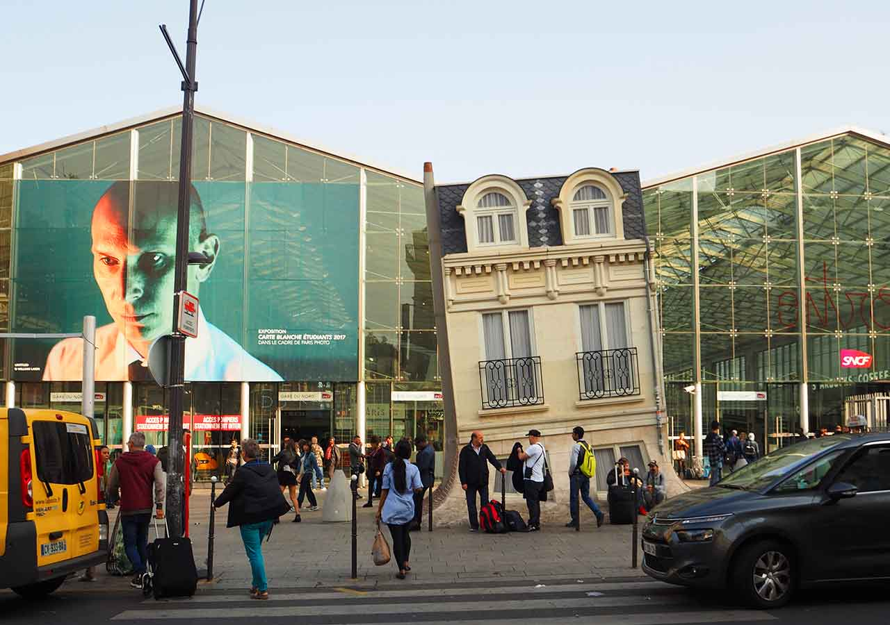パリ観光 穴場スポット パリ北駅(Gare du Nord)