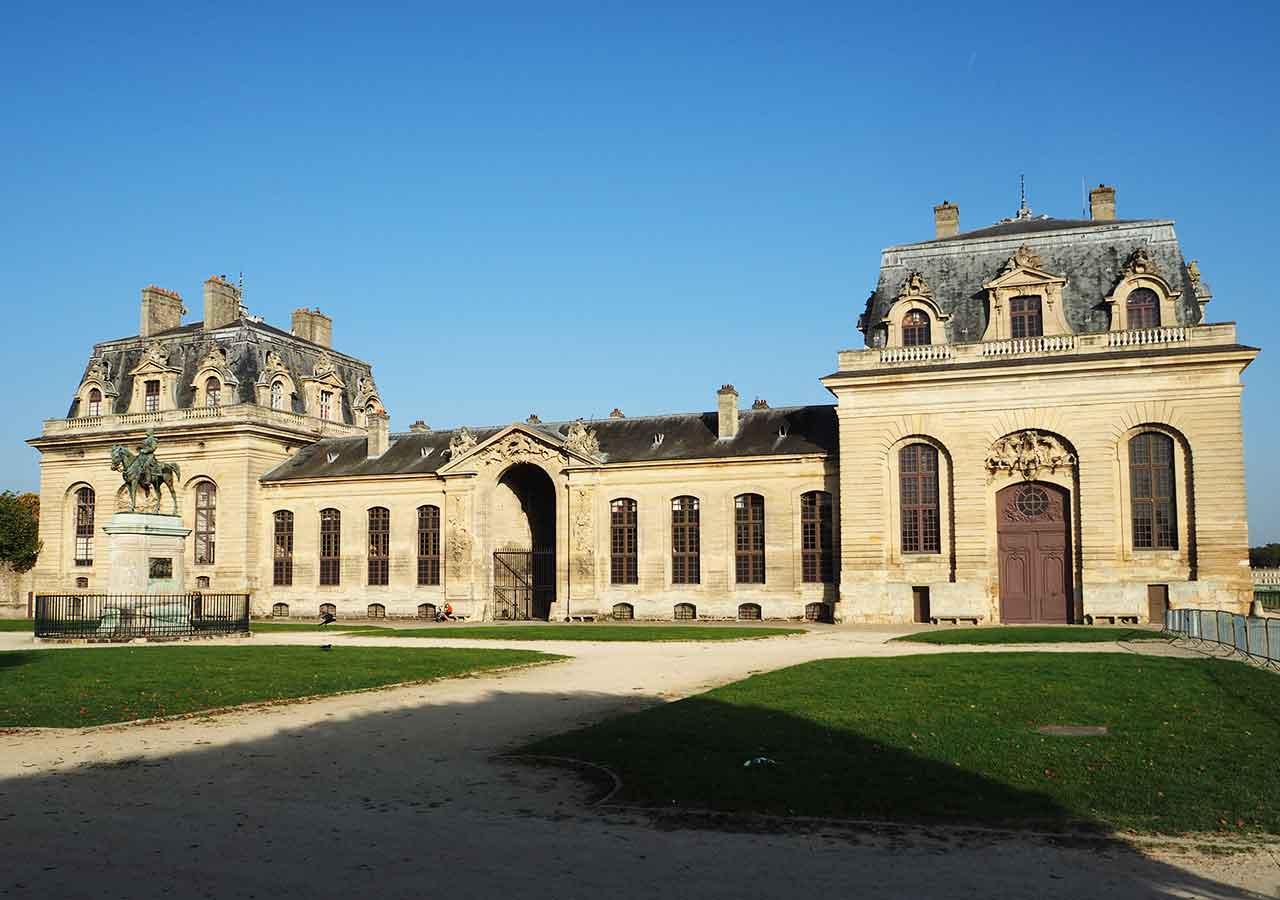 パリ観光 穴場スポット シャンティイ城の大厩舎