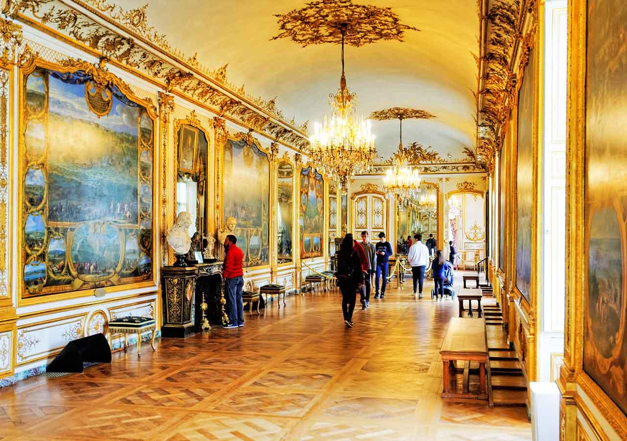 パリ観光 穴場スポット シャンティイ城(Château de Chantilly)の内部