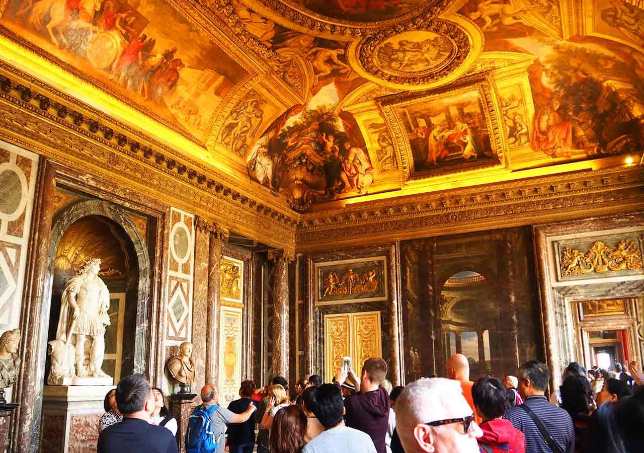 フランス観光 ヴェルサイユ宮殿 のチケット券売機