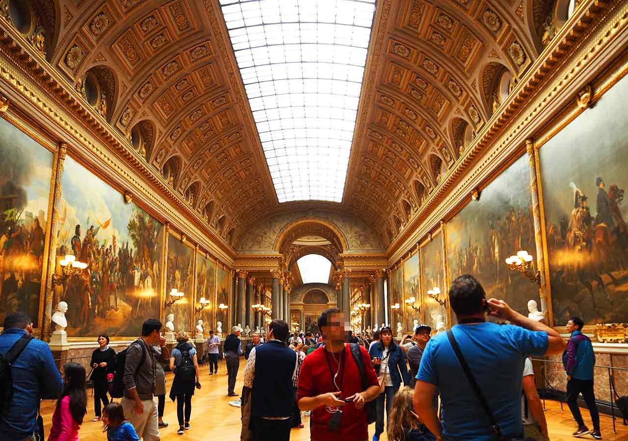 ヴェルサイユ宮殿 戦争の回廊