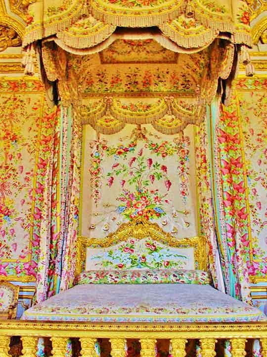 ヴェルサイユ宮殿 王妃の寝室