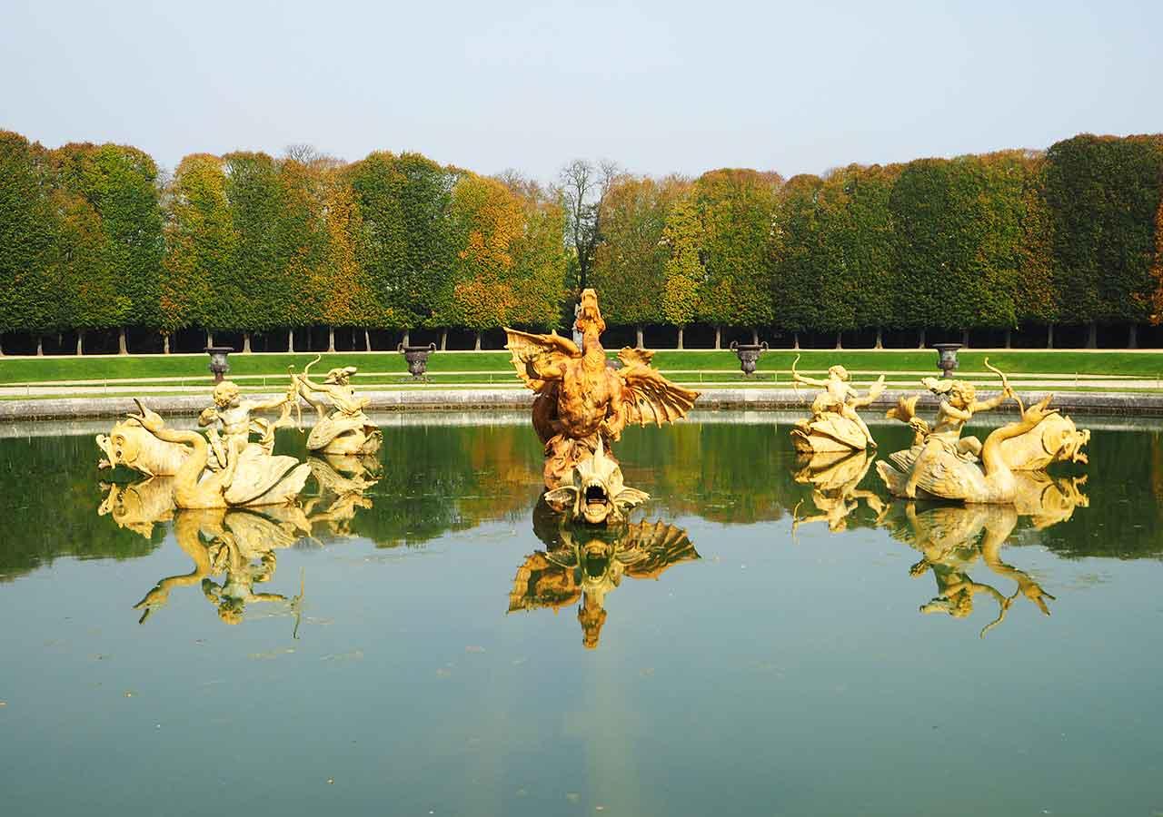 ヴェルサイユ宮殿 ドラゴンの泉