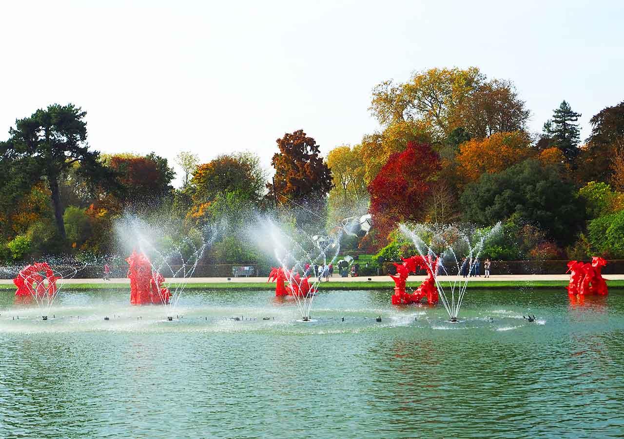 ヴェルサイユ宮殿 ミュージカル噴水ショー