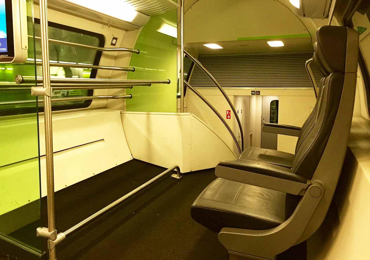 ウィーン観光 シティ・エアポート・トレイン(City Airport Train)
