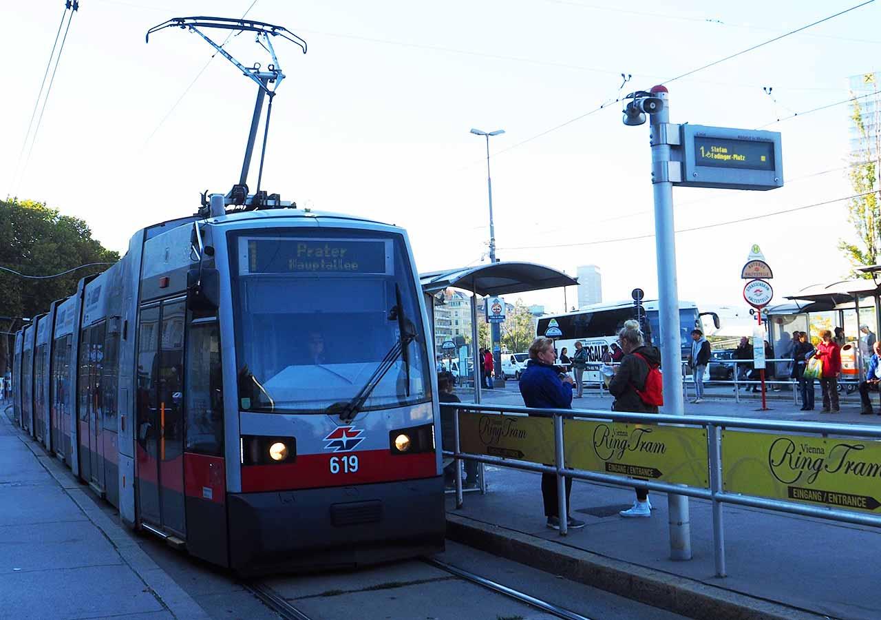 ウィーン観光 クンストハウスウィーンの行き方 トラム駅