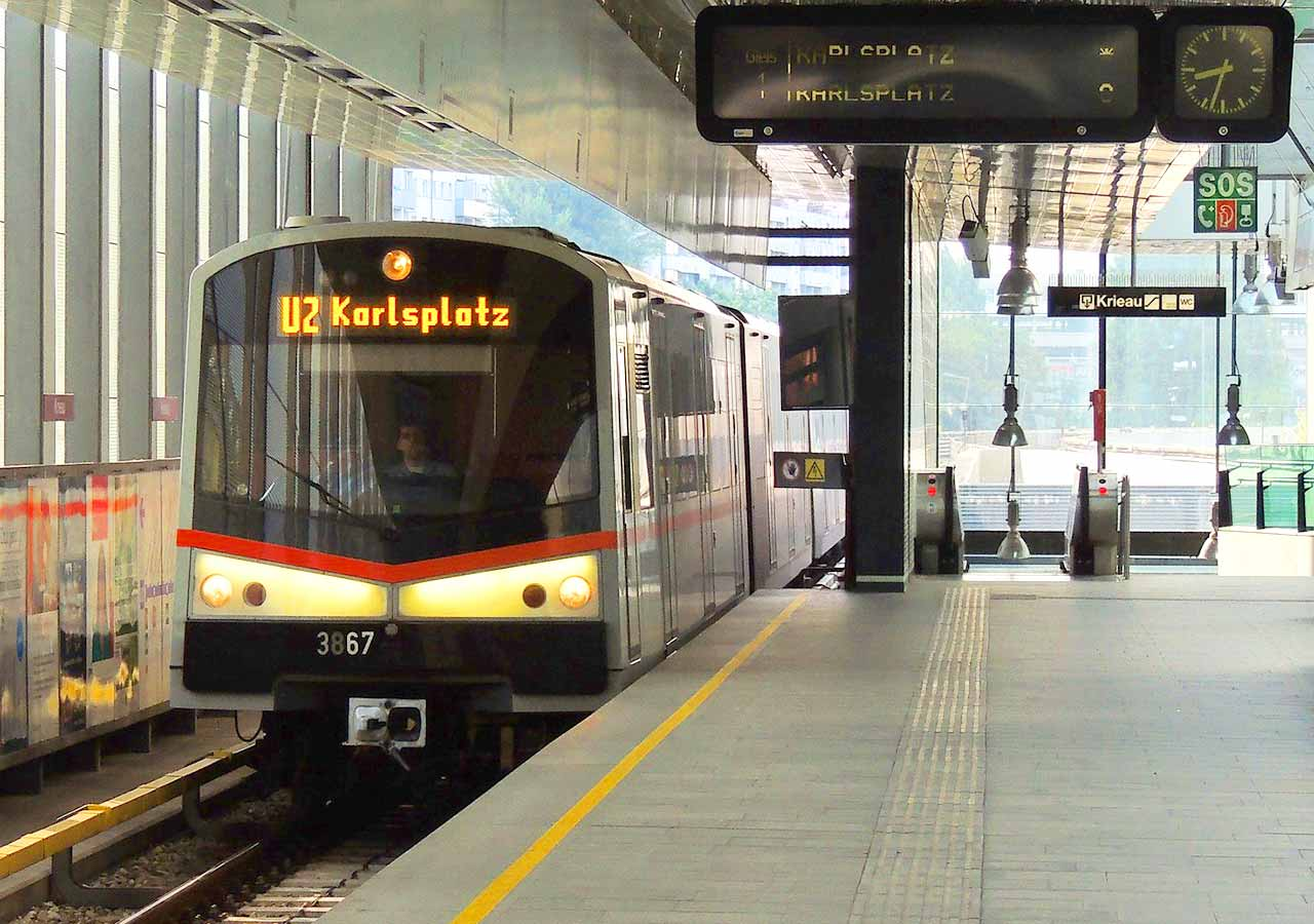 ウィーン観光 ウィーンの地下鉄