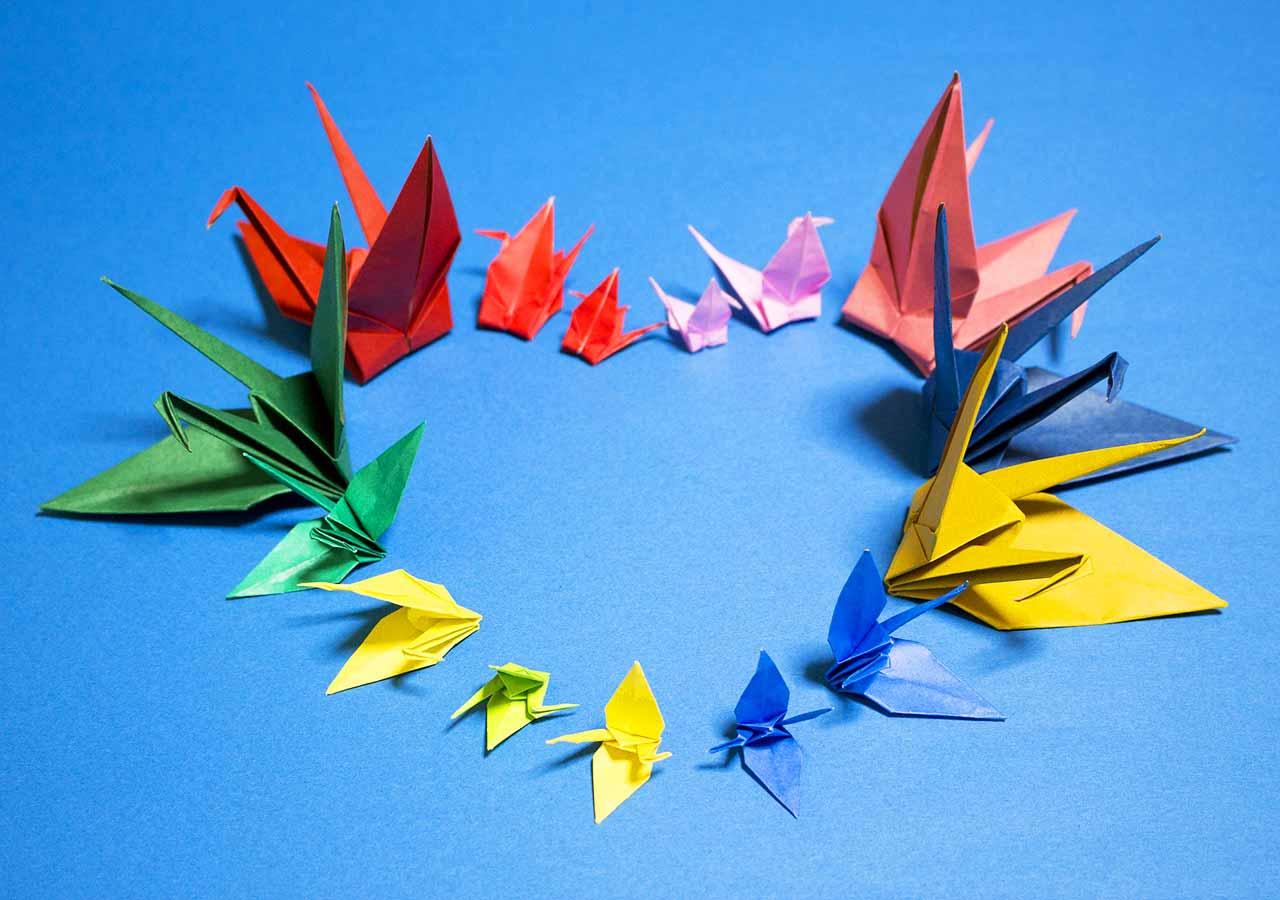 外国人の友達の作り方 折り紙