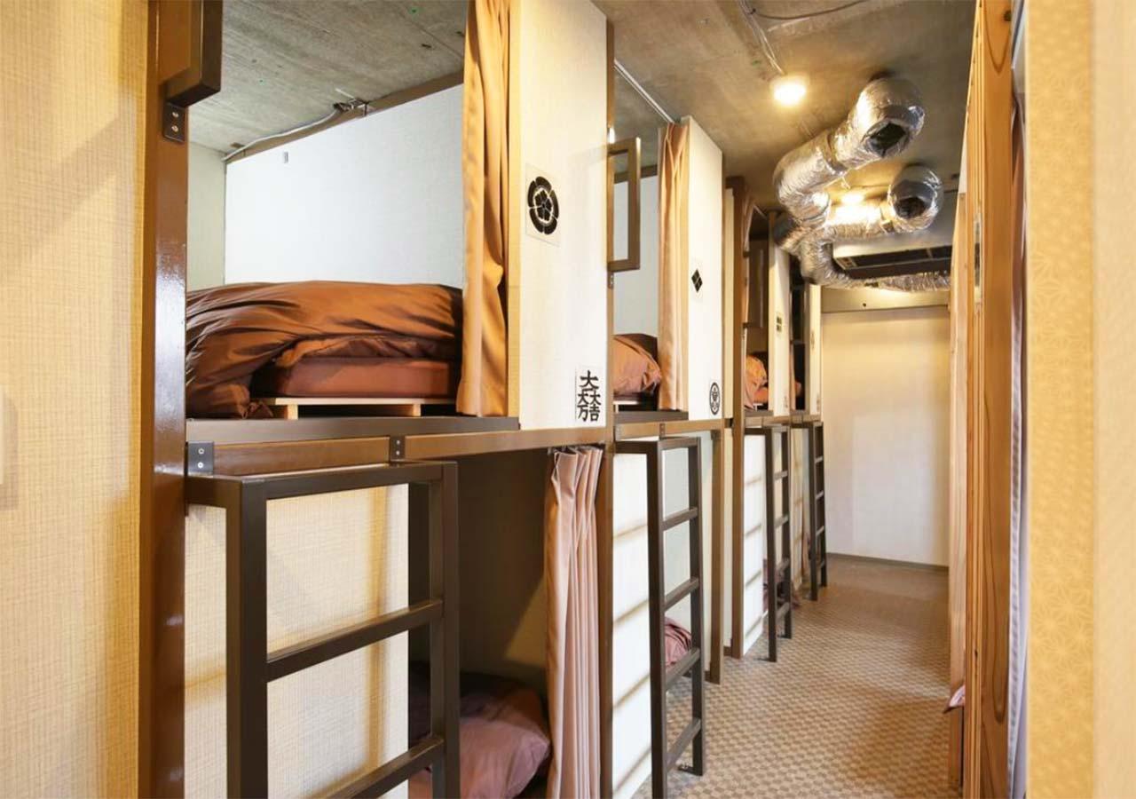 東京 サムライズホステル池袋の部屋